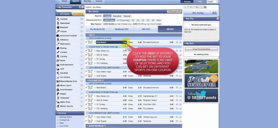 Sbobet Betting Strategy - Techniques to Win In Sports Betting